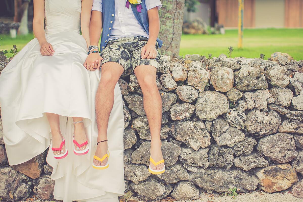 沖繩竹富島婚紗照 - 美美