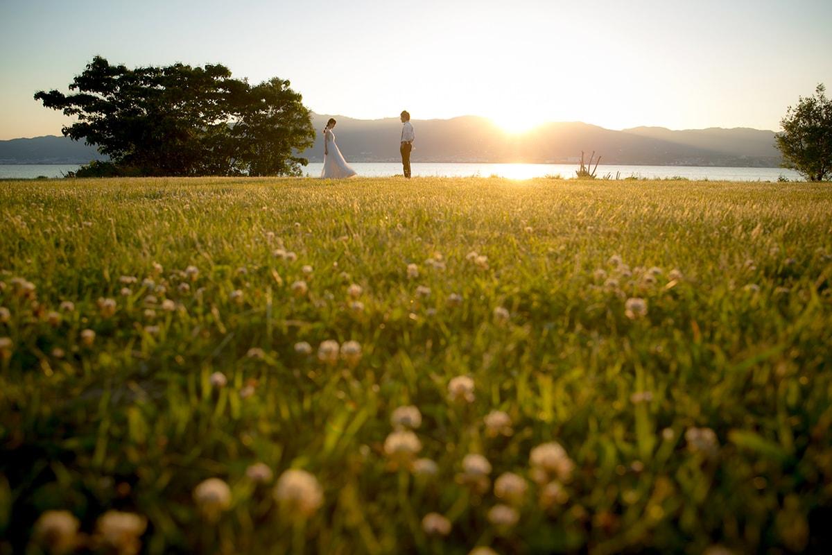 琵琶湖湖畔綠地/外景地[京都/日本]