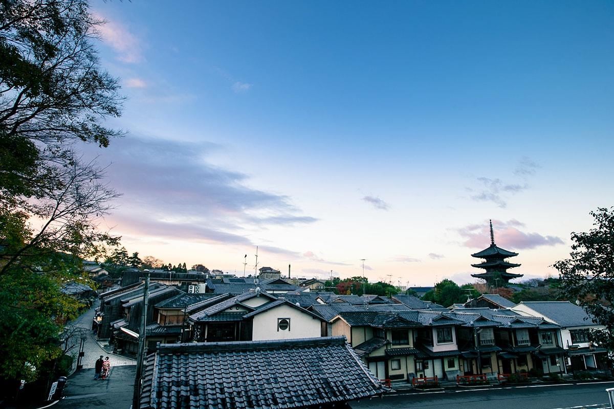 二年坂/外景地[京都/日本]