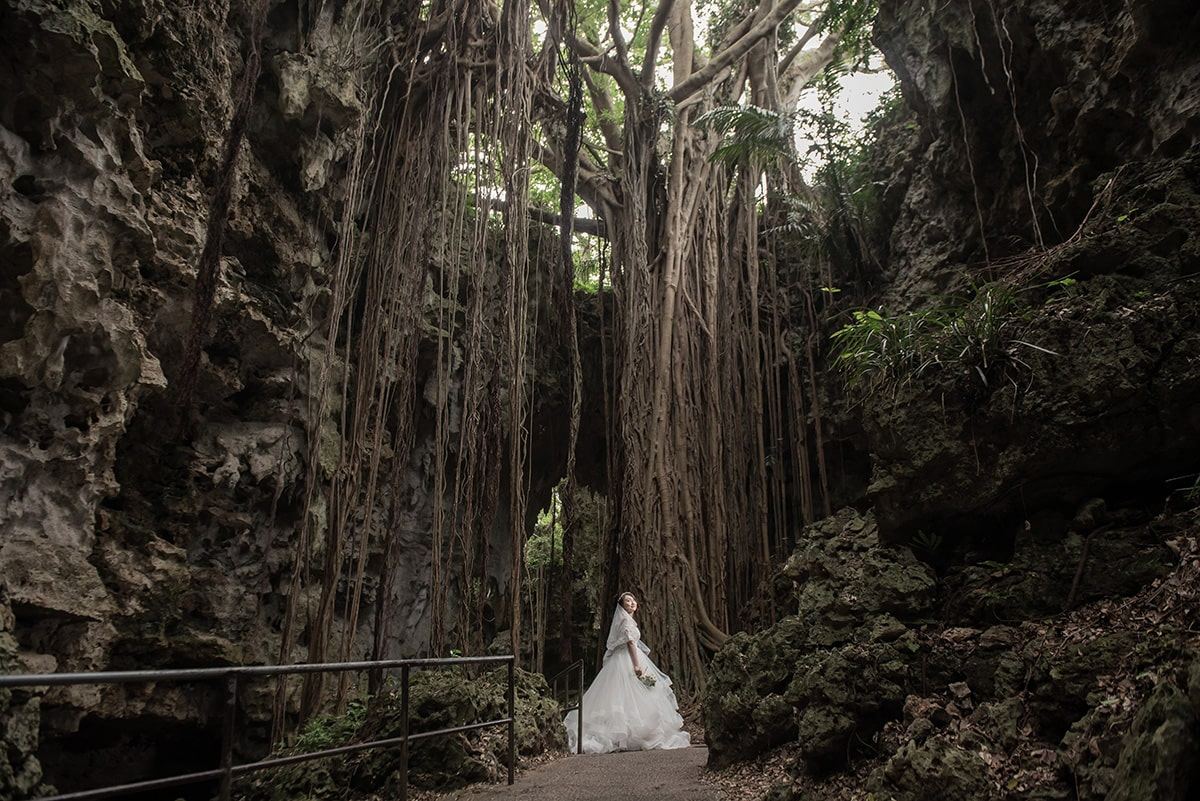 Gangala之谷/外景地[沖繩/日本]