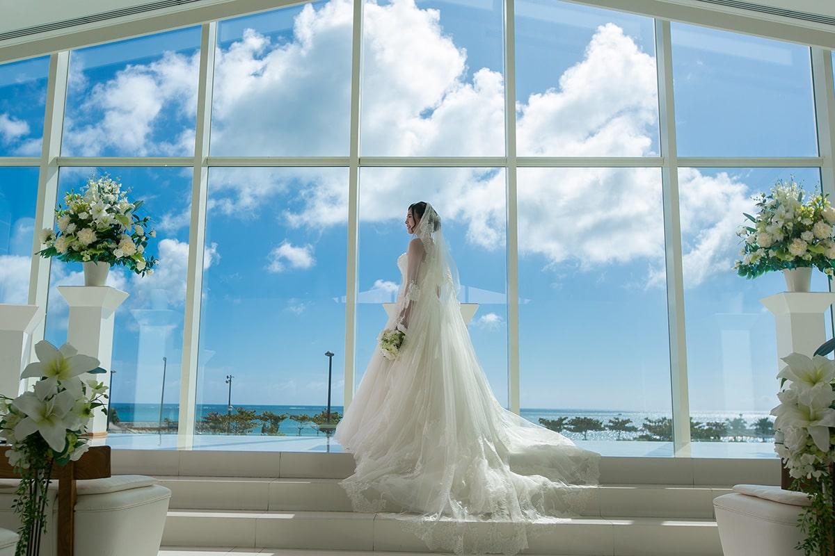 Sea Shell Blue教堂/外景地[沖繩/日本]
