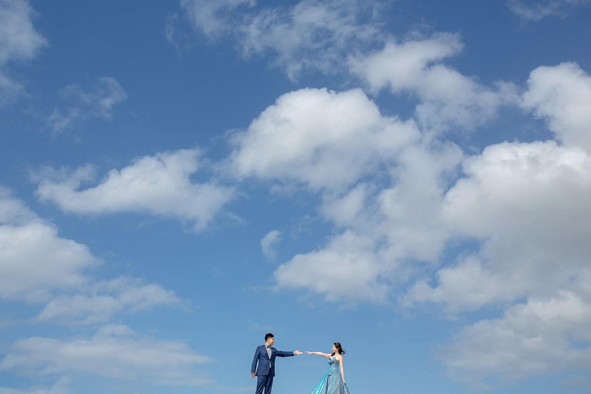 座喜味城跡/外景地[沖繩/日本]