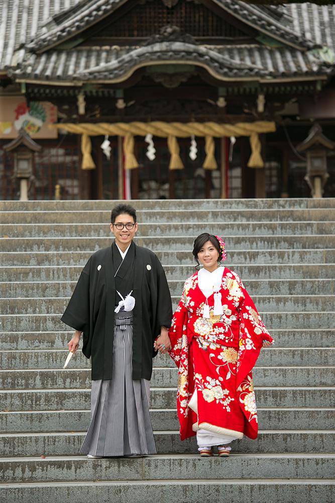 中百舌鳥八幡宮/外景地[大阪/日本]