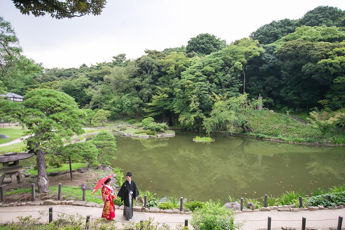 肥後細川庭園/外景地[東京/日本]